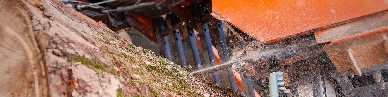 Промышленное лесопильное оборудование
